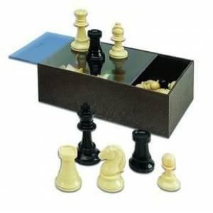 Ajedrez y damas - Fichas de ajedrez profesional (Últimas Unidades)