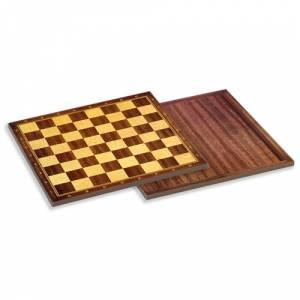 Ajedrez y damas - Tablero ajedrez madera 40X40 cm
