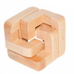 De madera - Rompecabezas Medio Cubo