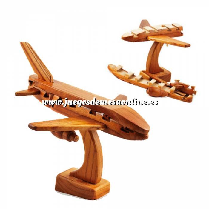 Imagen De madera Puzzle madera Avión - Ingenio