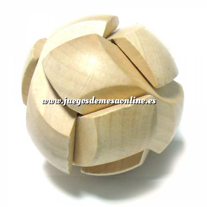 Imagen De madera Puzzle madera esfera