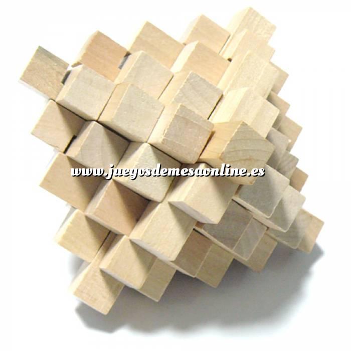 Imagen De madera Puzzle madera piña