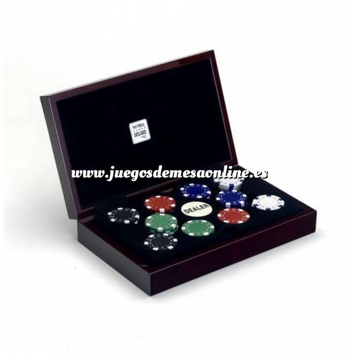 Imagen Fichas Caja 100 fichas casino 11.5 g. Deluxe
