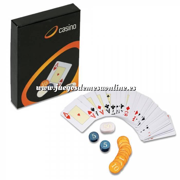 Imagen Maletines Poker Baraja de cartas Poker y Fichas (Últimas Unidades)