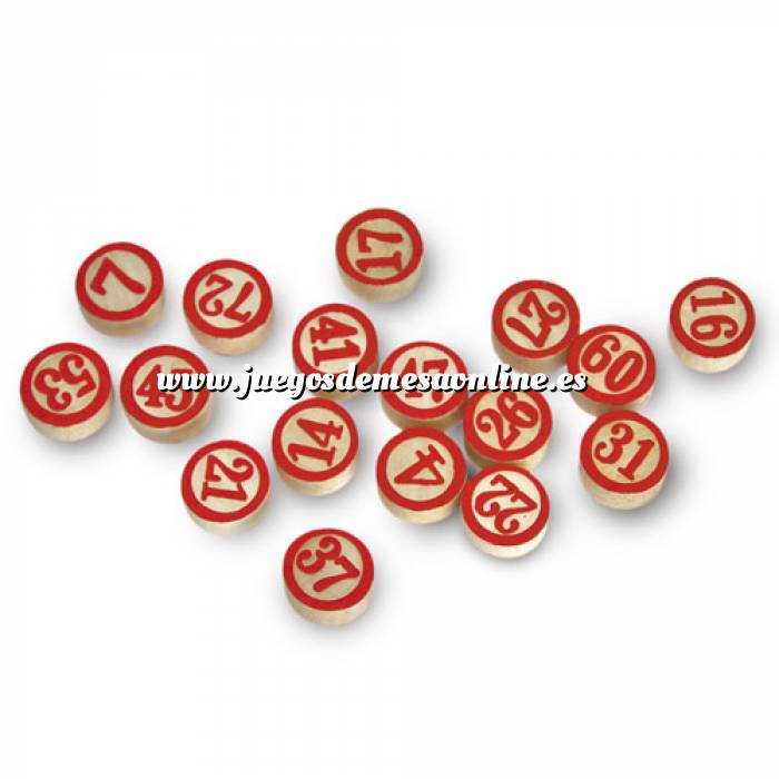 Imagen Otros juegos y Casino Fichas de madera doble cara (Últimas Unidades)