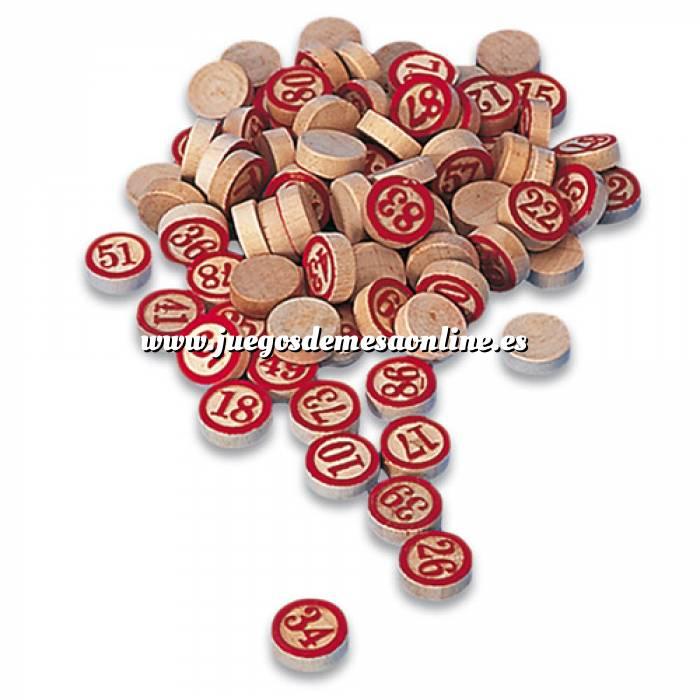 Imagen Otros juegos y Casino Fichas de madera una cara