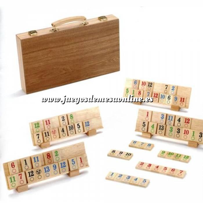 Imagen Otros juegos y Casino Rummi Clásico en madera Deluxe