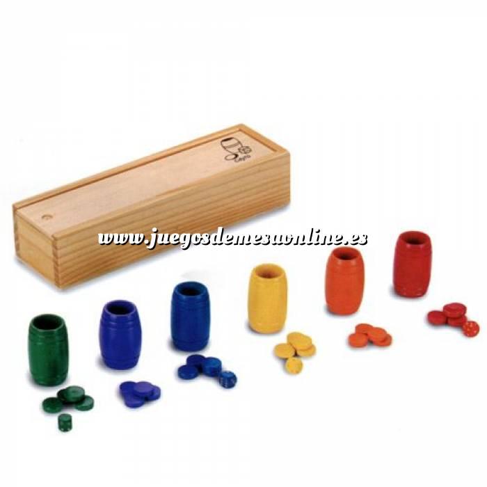 Imagen Parchís y Oca Accesorios Parchís / Oca para 6 jugadores en madera