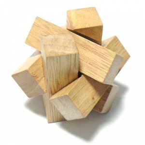 De madera - Cruz madera hexagono