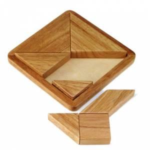 De madera - Tangram clásico de madera (Últimas Unidades)