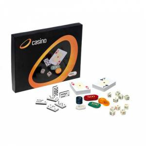Otros juegos y Casino - Caja Multijuegos Póker, Dominó, dados... (Últimas Unidades)
