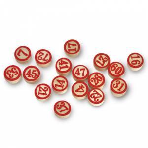 Otros juegos y Casino - Fichas de madera doble cara (Últimas Unidades)